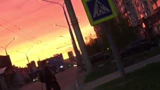Beautifully sunset
