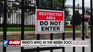 One America News Investigates: Who's who in the Biden zoo