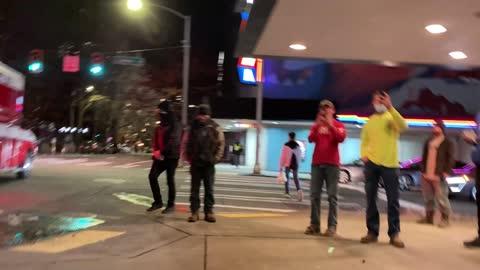 ANTIFA assaults bystanders