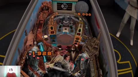 Can't Leave Star Wars Pinball VR