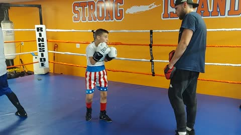 Joey on the Pads