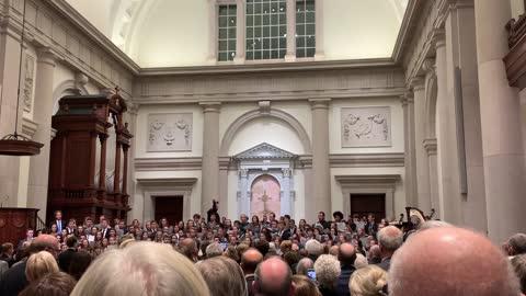 Hillsdale College Choir & Orchestra, Hallelujah Chorus Oct. 2019