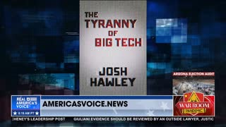 Sen. Hawley: Big Tech Has Bought Off D.C., Must Be Broken Up