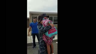Military homecoming from Afghanistan