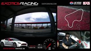 Exotics Racing Aston Martin Vantage V8 - Las Vegas Speedway