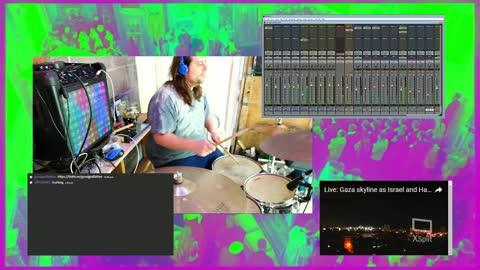 Stark - Studio Drum Performance by Xwan of Good God Father