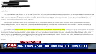 Ariz. county still obstructing election audit
