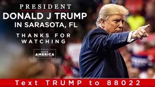 President Donald J Trump in Sarasota