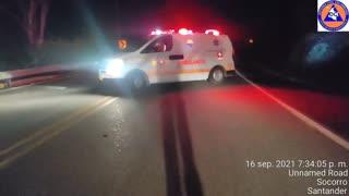 grave accidente de tránsito en la vía Socorro-San Gil