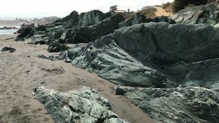 Pichilemu surfing beach in Chile