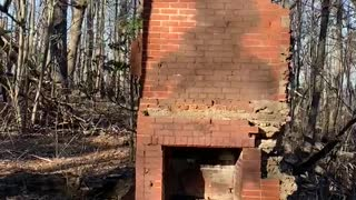 Burned down house next to Fire Watch Tower