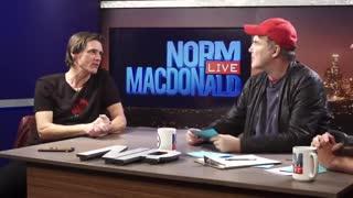 Norm MacDonald with Jim Carrey