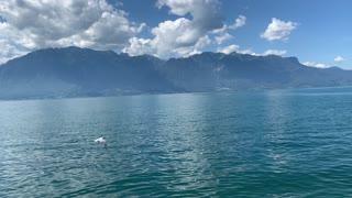La beauté du lac Léman
