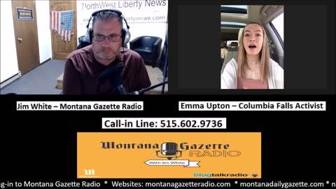 Montana Gazette Radio - 18-Year-Old Activist Emma Upton