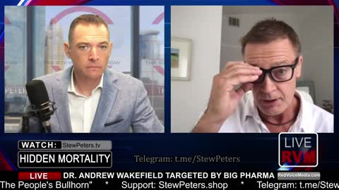 """Dr. Andy Wakefield, """"Tony Fauci Should Be Held Up For Treason"""" - Eye-Popping Interview"""