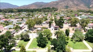 Papudo city in Chile