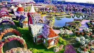 beautiful garden in dubai