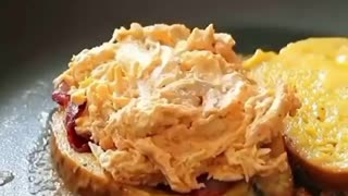 Cheese Chicken Sandwich #Tasty #Food #Viral #Video