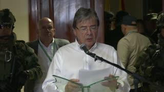 Ministro de Defensa de Colombia