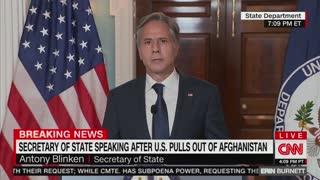 Blinken Gives Multi-Step Plan For Afghanistan