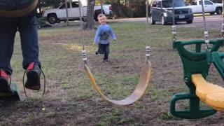 Swing Set Slip and Flip
