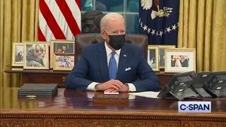 Biden's Defense of Unprecedented Executive Order Count Is UNREAL