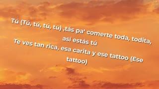 Rauw Alejandro ft Camilo - Tattoo REMIX (Lyrics)