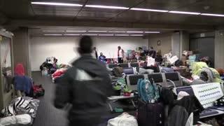 Colombianos varados en aeropuerto de Sao Paulo quieren regresar a su país