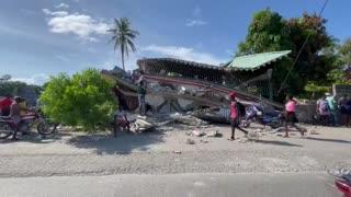 Video: Ya son más de 300 los muertos por el terremoto en Haití