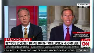 Democrat Called Out Over Filibuster Hypocrisy.... On CNN? .... !