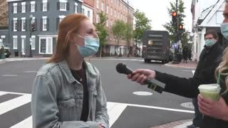 People in Washington D.C.Give SHOCKING Answers When Asked About Rioting