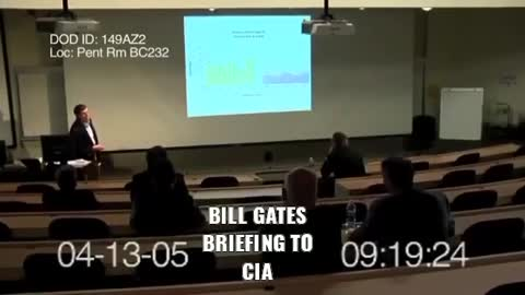 Bill Gates Briefing to [Mafia] C.I.A.