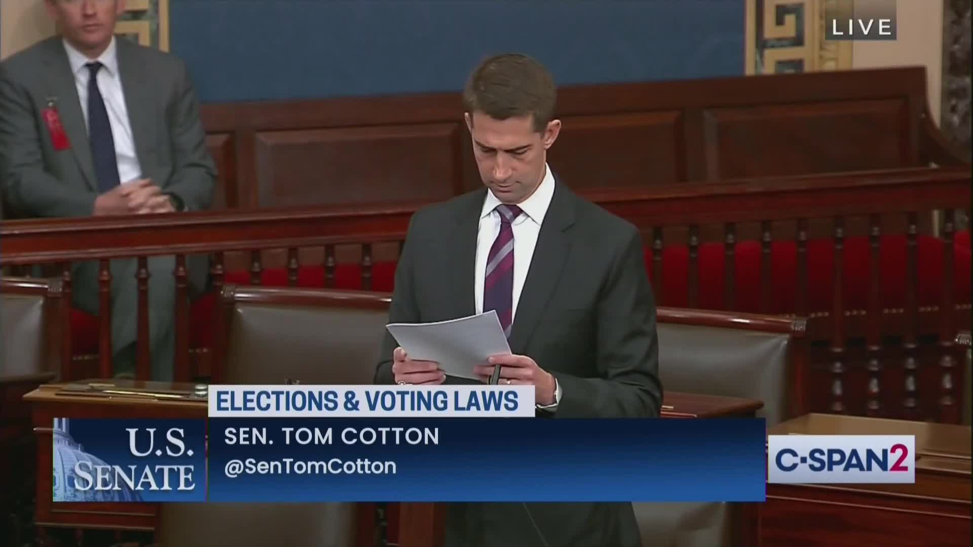 Tom Cotton Brings Receipts, DESTROYS Dems for Filibuster Hypocrisy