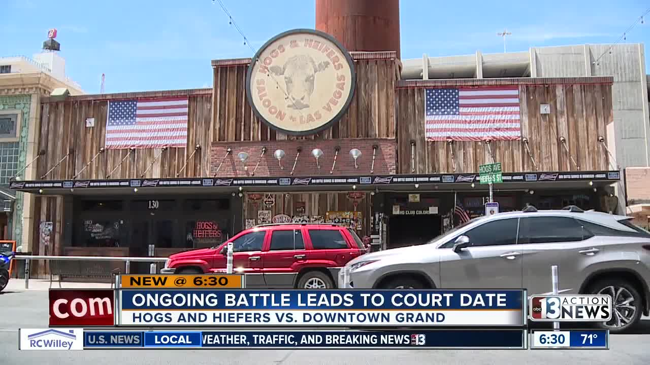 Ongoing battle between Hogs & Heifers, Downtown Grand heads to court