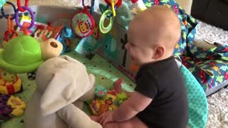 baby Funny moment caught on camera
