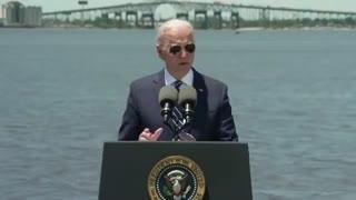 President Joe Biden Speaks in Louisiana