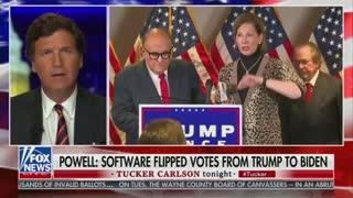Tucker Carlson's Rant on Sidney Powell Shocks His Audience