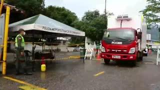 'Narcocamión' fue interceptado en el centro de Bucaramanga