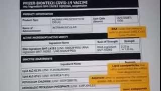 Covid Vaccine facts/nanotechnology