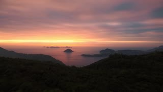 Amazing Nature Scenery Sunset