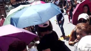 Avanza nueva protesta de maestros en Bucaramanga y Floridablanca