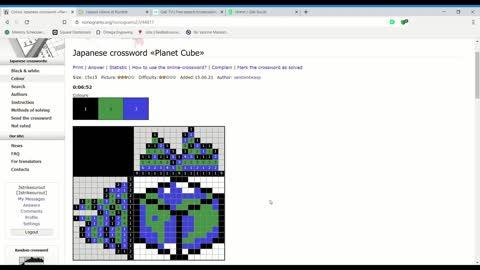 Nonograms - Planet Cube