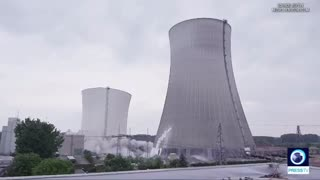Nuclear Tower Demolished