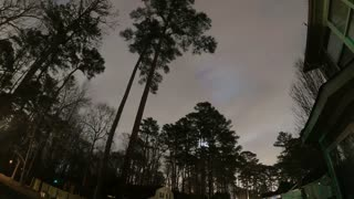 Time-Lapse From Back Yard