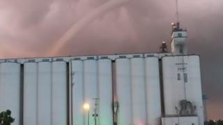 Tornado Tears Across Kansas
