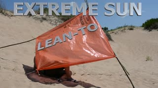 Extreme Heat & Sun Lean-To Shelter