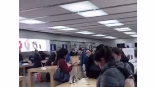 Banned from apple store