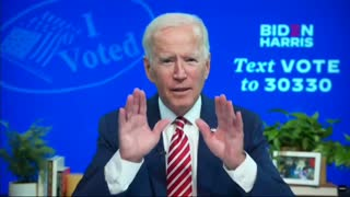 Joe Biden confirms they are committing fraud
