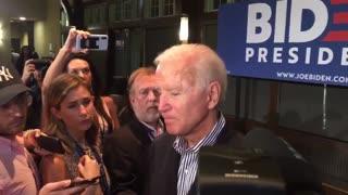 Joe Biden in 2019 Lying