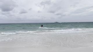 Fun Kite surfing